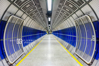 Retina II - London Bridge Underground Station, London, UK