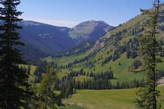After the Eclispe (akortrey) Tags: grandtetonnationalpark tetoncresttrail mountains wilderness wyoming