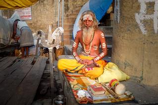 .. Shiva and Sadhu... Varanasi 2017