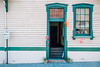 Castlemaine 012 (Peter.Bartlett) Tags: victoria window facade doorway colour peterbartlett urban wall urbanarte lunaphoto m43 microfourthirds city architecture poster sign olympuspenf kodakportra160emulation door castlemaine australia au