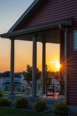 G'Night (NetAgra) Tags: sunburst night sunset porch house sky suburb danecounty nightfall veronawisconsin new verona wisconsin unitedstates us