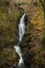 Aira Force Waterfall (Future-Echoes) Tags: 4star 2018 airaforce bridge cumbria flowing rock thelakedistrict water waterfall