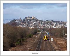 The Train From Stirling (flatfoot471) Tags: 158 2017 castle diesel landscape march normal rail scotland spring stirling stirlingshire unitedkingdom gbr