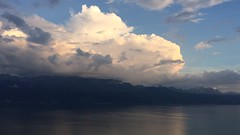 The remains of the day (oobwoodman) Tags: switzerland suisse schweiz léman leman lakegeneva genfersee lake lac see vaud savoie alps alpes alpen mountains montagne berge sunset sonneruntergang couchedesoleil clouds nuages wolken timelapse video boldor