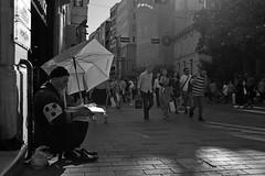 Street (K.BERKİN) Tags: walk way turkey tourism blind human oldcity oldman people street streetphoto streetphotograpy goldenhorn homeless life leica blackwhite istanbul city bosphorus beyoglu naturel mirroless man newspaper