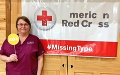 NEPA #MissingType Kickoff (American Red Cross Blood Services) Tags: missingtype missingtypes redcross blood blooddrive clintoncounty millhall northcentralpa nepa