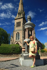 The Auld Kirk (alasdair massie) Tags: sarah scotland church spire aberdeenshire ballater