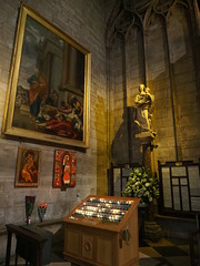 P5270807 (photos-by-sherm) Tags: notre dame cathedral paris france summer interior organ music chapels statues artwork carvings windows people