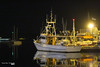 Waiting for the First Light... (Κώστας Καϊσίδης) Tags: volosfishingharbour volosfishingport port harbor harbour fishingboat boat sea night lights volos magnisia magnesia greece hellas reflections darkness night‐time