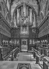 Cathedral (otissmith4) Tags: blackandwhite bw manchester monochrome mcr photomatix hdr cathedral