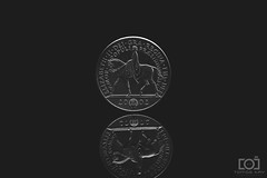 149/365 - £5 Coin (Forty-9) Tags: 29052018 photoaday softbox efs1785mmf456isusm forty9 3652018 365 2018 day149 yongnuospeedliteyn560iv tuesday photr strobist tomoskay yongnuo lightroom canon strobism studio efslens may eos60d project3652018 coin fivepounds £5 five 29thmay2018 project365 £5coin flash 149365
