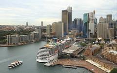 Sydney, Australia (Nigel L Baker) Tags: ship harbour sydney quay landscape liner boat