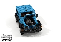 Jeep Wrangler (JL) 2018 SWB 3-Door (lego911) Tags: jeep fiat chrysler north america jl swb wrangler 2018 2010s 3door 3dr turbo offroad offroader 4x4 4wd awd auto car moc model miniland lego lego911 ldd render cad povray usa american rock climber