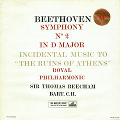 Beethoven Symphony 2 • Ruins of Athens - Beecham Columbia UK 1 (sacqueboutier) Tags: vintage vinyl vinylcollection vinyllover vinylnation vinylcollector lp lplover lps lpcollection lpcover lpcollector lpcoverart lpcoverlover records record classical classicalmusic music british columbia emi