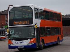 Centrebus East Lancs Omnidekka (Scania N94UD) 908 YN53 CFO (Alex S. Transport Photography) Tags: bus outdoor road vehicle 723 unusual centrebus eastlancs eastlancsomnidekka scania n94ud 908 route3 yn53cfo