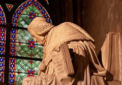 Psalm XL (bighands@yahoo.com) Tags: notredamedeparis paris france church stainedglass