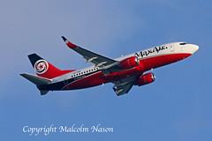 B737-3H4 5N-BBM MAX AIR (shanairpic) Tags: jetairliner b737 boeing737 shannon maxair 5nbbm