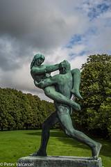 Oslo Norway (Peter Valcarcel) Tags: norway oslo travel vigelandpark cities sculpturepark sculpture holiday city europeancities gustavvigeland europe travelphotos scandanavia