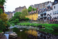 to be posted at (MeowPawJournals) Tags: medievalvillage oldtown edimburgo edinburgh deanvillage cityphotography citybreak nikon oldbuildings oldarchitecture tudorhouses rive nature landscapephotography