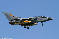 Tornado ECR, 46+23, Duitsland (Alfred Koning) Tags: 4623 duitsland epkspoznańkrzesiny exerciseoefening locatie pa200tornado tigermeet2018 tornadoecr vliegtuigen