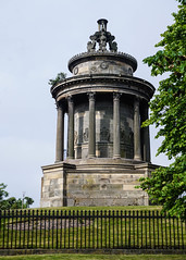 Burns Monument, Edinburgh (p.mathias) Tags: burns robert poet monument edinburgh scotland history historical historic scottish literature writing sunny bluesky sony a5100 europe tree sky architecture building tower unitedkingdom