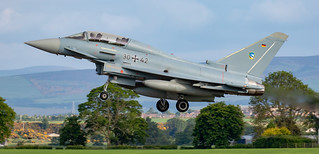 German Luftwaffe Typhoon Eurofighter