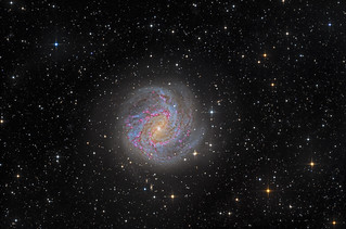 Messier 83, the Southern Pinwheel Galaxy