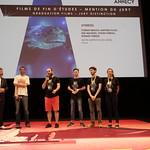 Mention du jury film de fin d'études/Jury Distinction for a Graduation Film: