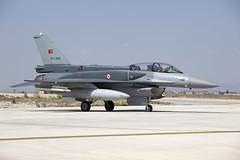 07-1023_F-16DFightingFalcon_TurkishAirForce_KYA (Tony Osborne - Rotorfocus) Tags: lockheed martin general dynamics f16 fighting falcon viper turkey air force turkish exercise anatolian eagle 2014 142 f16c cfts