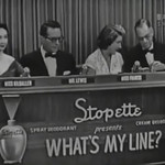 Celebrity Panelists, Dorothy Kilgallen, Robert Q. Lewis, Arlene Francis, & Bennett Cerf,