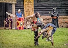 Closing Moves (Cheesy_Nacho) Tags: roman gladiator britannia fight show reenactment chilternopenairmuseum reenacting history fighting