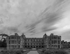 Photo of Audley End House -  View of the East Front with the parterre gardens
