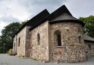 The old church in Hjälmseryd