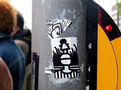 stickers in Hamburg (wojofoto) Tags: stickers stickerart sticker wojo hamburg germany deutschland streetart wojofoto wolfgangjosten