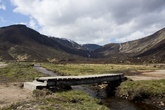 Bridge in the Glen (steve_whitmarsh) Tags: aberdeenshire scotland scottishhighlands bridge stream water mountain hills moor abigfave topic