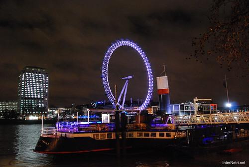 Око Лондона вночі InterNetri United Kingdom 0433