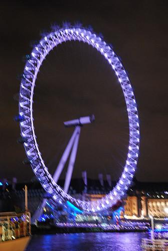 Око Лондона вночі InterNetri United Kingdom 0432