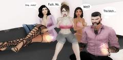 YouCan'tSitWithUs mean (Eclair Asteria) Tags: catwa catya maitreya ploom gaeg secondlife friends mean girls