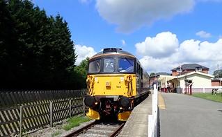 Ecclesbourne Valley Railway Duffield Derbyshire 3rd June 2018
