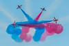 Red Arrows Display (_John Hikins) Tags: red arrows plane planes airshow airplane display torbay torquay paignton seaside sky sigma nikon nikkor 150600mm 150600c 150600 contemporary raf smoke d500