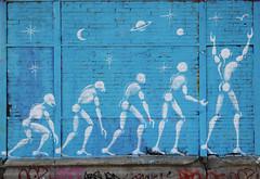 Darwin's theory (HBA_JIJO) Tags: streetart urban graffiti paris art france hbajijo wall mur painting mesnager peinture jérômemesnager urbain festiwall festival darwin evolution
