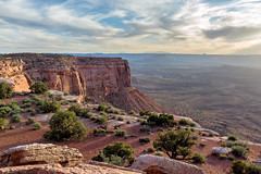 Canyonlands Sunset (runcolt12) Tags: canyonlandsnationalpark utah sunset moab nationalpark greenriver goldenhour clouds outdoors wild desert spring nikon d800e