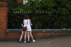 London (jaumescar) Tags: kiss london england streetphotography love white dress street legs sex