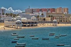 playa de la Caleta, Cadiz (ton21lakers) Tags: playa mar barcos arerna cadiz andalucia belleza canon tamron toño escandon
