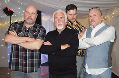 The lads. (CWhatPhotos) Tags: cwhatphotos group men males wedding reception father son brother together