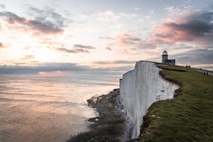 Skies on Fire 🔥🔥 (Fabian Fortmann) Tags: cornwall england coast sunset sonnenuntergang sky fire lighthouse leuchtturm trip travel vacation sea meer