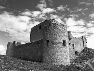 Castillo de Caracena, Soria. (papel)