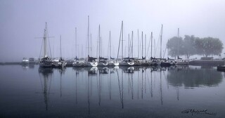 Sailboats in the Mist_1