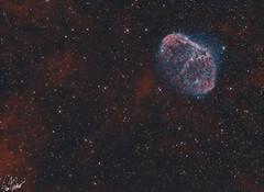 NGC 6888 (Sam D. Barber) Tags: astrometrydotnet:id=nova2631336 astrometrydotnet:status=solved