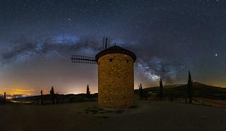 Via lactea en el Molino de Ocon - Milky way